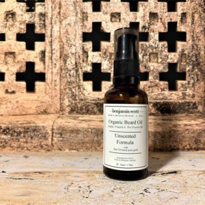 Luxury Beard Oil With 24k Gold Unscented Formula