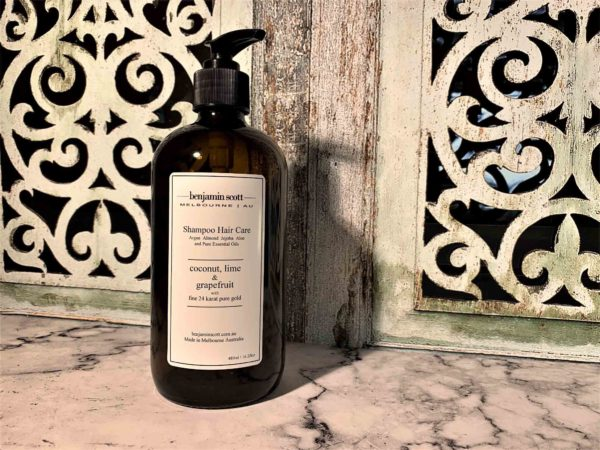 Luxury Shampoo With Gold Coconut Lime Grapefruit