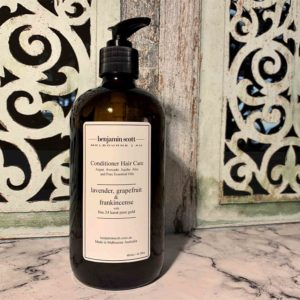 Luxury Conditioner With Gold Lavender Grapefruit Frankincense